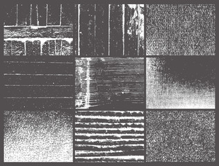 Picture from nine windows similar to a gray photo.