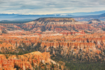 Scenic landscape in Bryce Canyon, Utah, USA