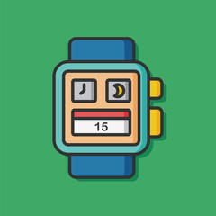 technology i-watch vector icon
