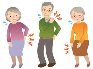 高齢者 身体の痛み セット