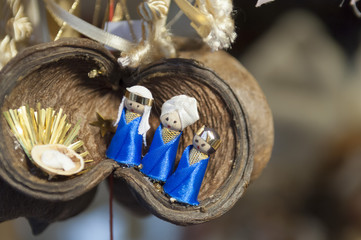 Decoration in Advent market