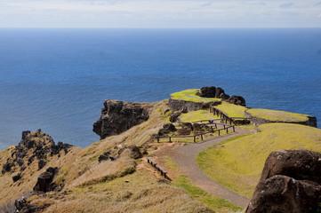 Easter Island - Orongo - old ritual village