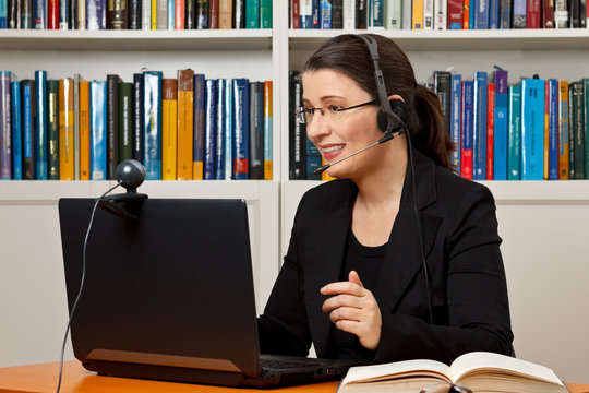 Online legal advice video call