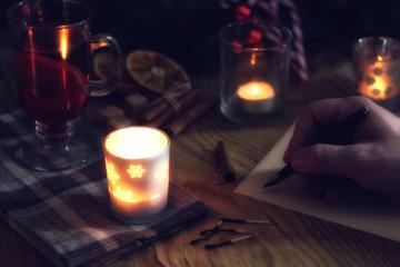 hand write wish year