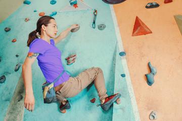 Free climber indoor