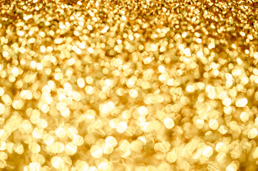 Abstract the gold light.