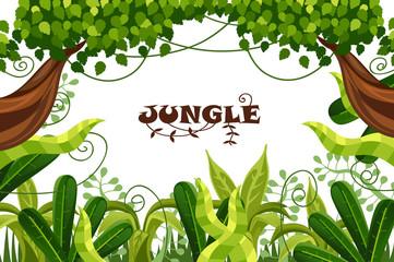 decorative wood. jungle. tropical