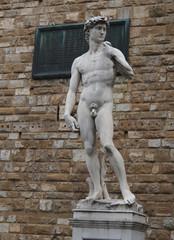 Sculpture de David à Palaccio Vecchio Florence