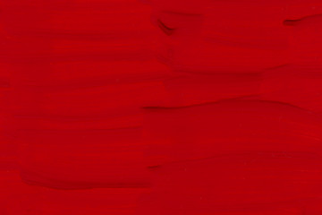 Red painted texture background