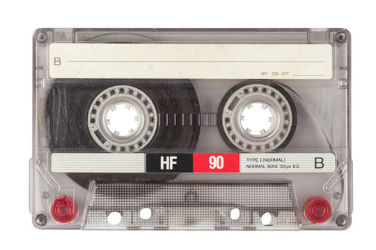 Vintage transparent cassette