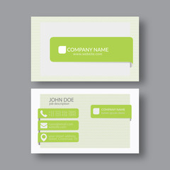 Abstract Elegant Business Card Template