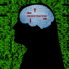 Registration in mind concept