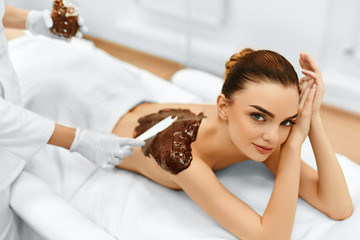 Body Care. Spa Beauty Treatment. Cosmetic Mask. Skin Care.