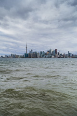 View of Toronto Skyline from Lake Ontario
