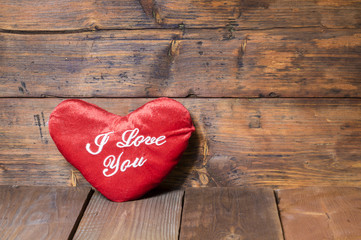 "serce z napisem""i love you"""