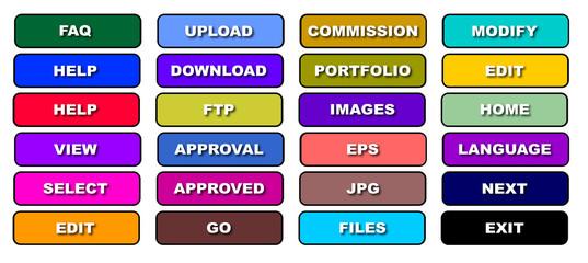 Image Based Web Icons