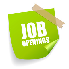 Job openings sticker