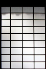 Shoji, a Japanese paper window, Kyoto, Japan
