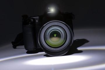 Digitalkamera Spiegelreflex Blitz