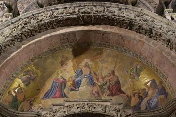 Christliche renaissance Deckengemälde in Italien