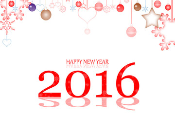 happy new year 2016 background and texture