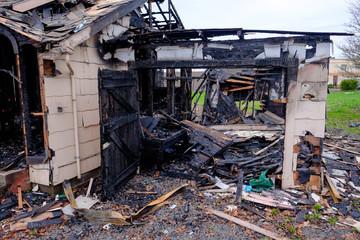 House Burned in Major Fire
