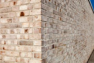Steinmauer Backsteinwand