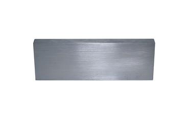 Metallic rectangular block isolated