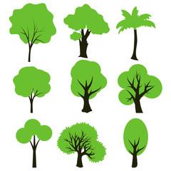 Simple trees set