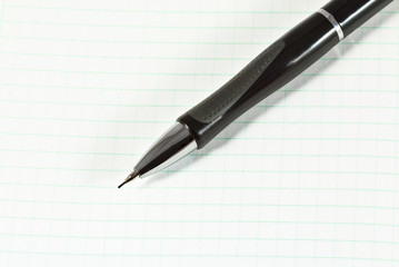 Automatic pencil and paper sheet