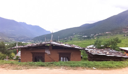 Landscapes in Bhutan