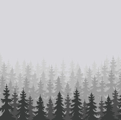 wild forests natural background