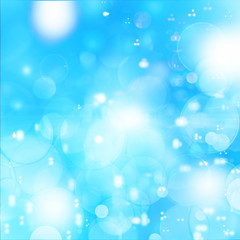 Abstract blue  tone background