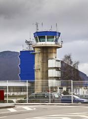 Airport in Sarajevo. Bosnia and Herzegovina
