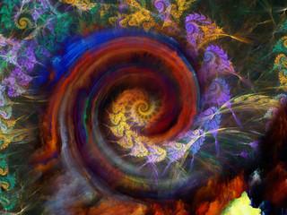 Unfolding of Spiral Pattern