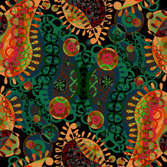 paisley pattern in vector format