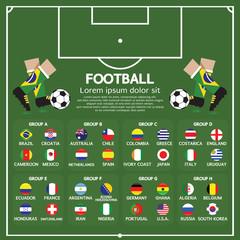 2014 Football Tournament Chart.