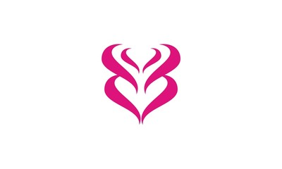 abstract love company logo