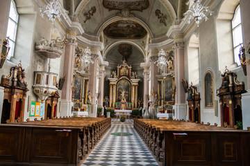 Chiesa Parrocchiale, Villabassa, Niederdorf, Val Pusteria, Bolzano, Trentino Alto Adige, Italia