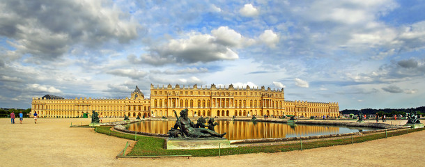 The Royal Palace in Versailles, France, UNESCO World Heritage