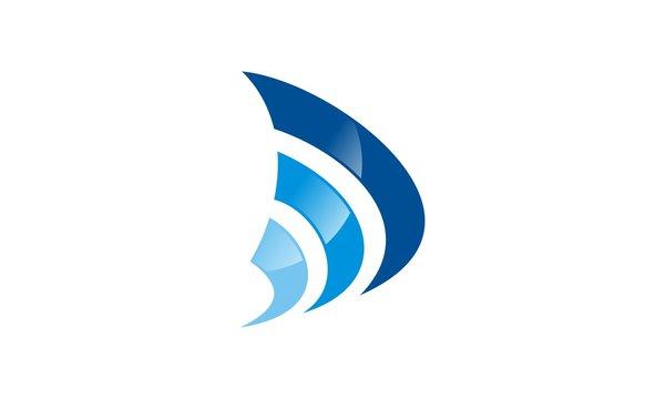 line wave sonar technology logo