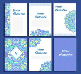 mandala vector illustration banner