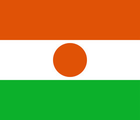 vector flag of Niger