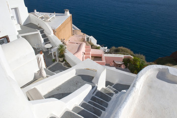 Architecture at Santorini island, Greece
