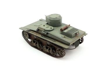 Soviet floating tank