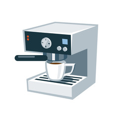 Isolate Coffee Machine