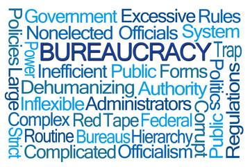 Bureaucracy Word Cloud