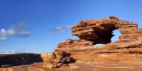 Nature's Window rock arch in Kalbarri NP, Western Australia