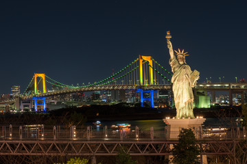 東京お台場の夜景