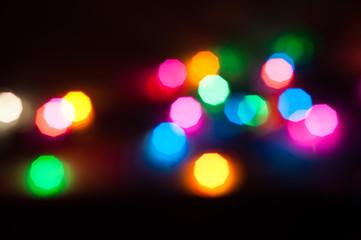 defocus light background